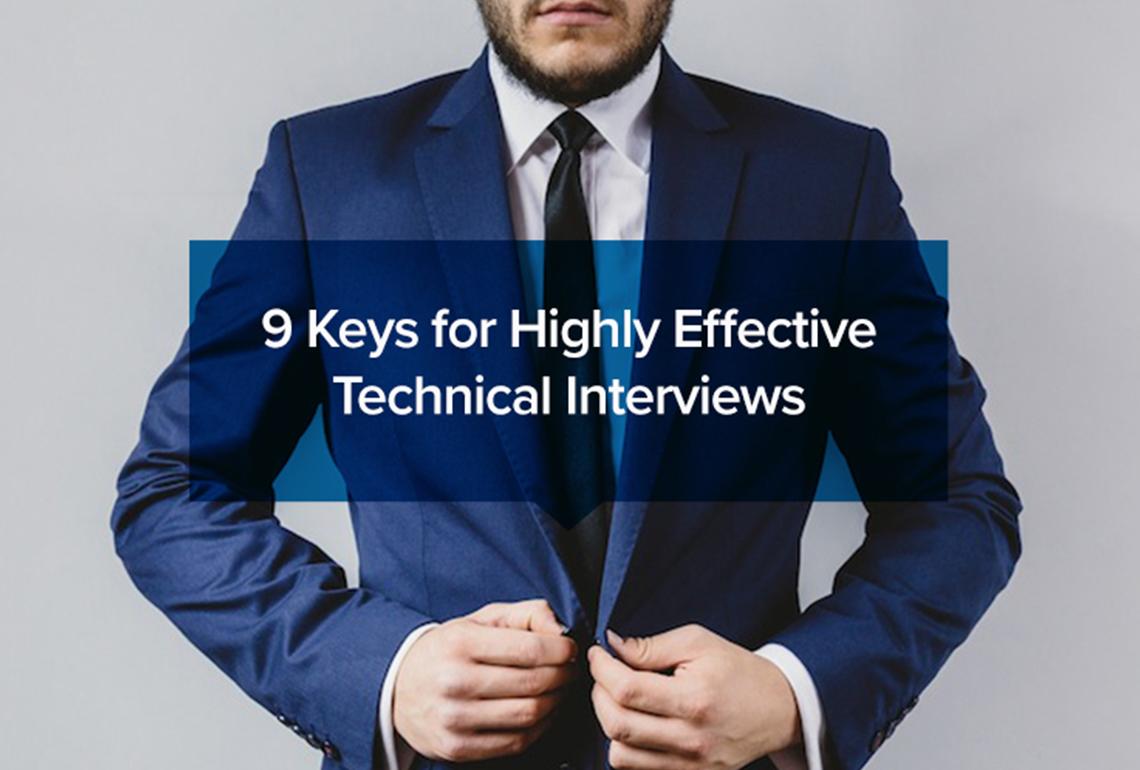 effective technical interviews