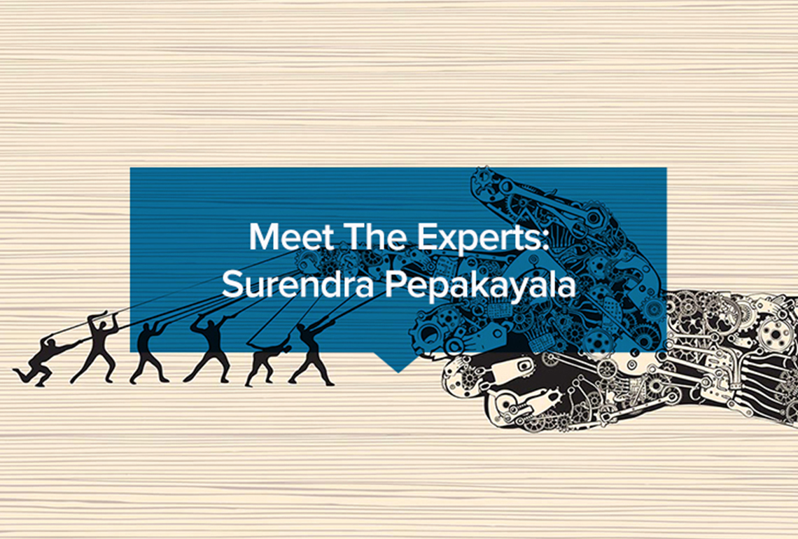 Meet The Experts Surendra Pepakayala