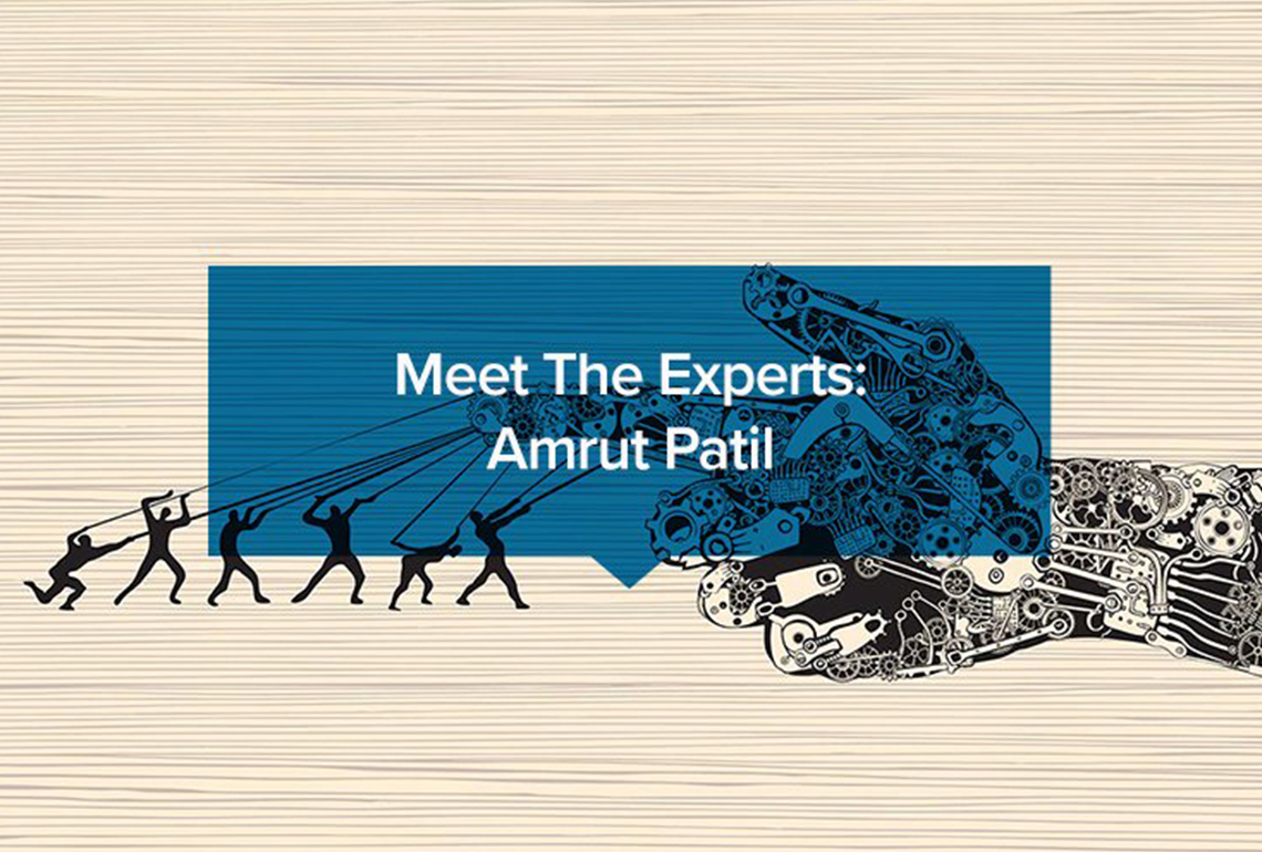 Meet The Experts Amrut Patil