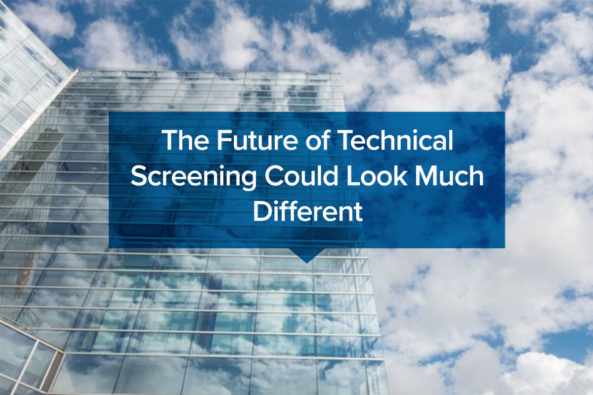 The Future of Technical Screening Could Look Much Different