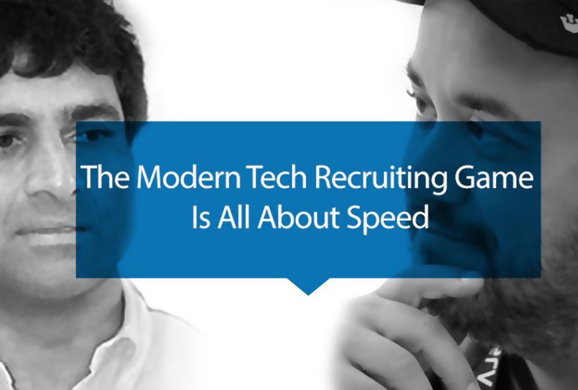 the modern tech recruiting game is all about speed