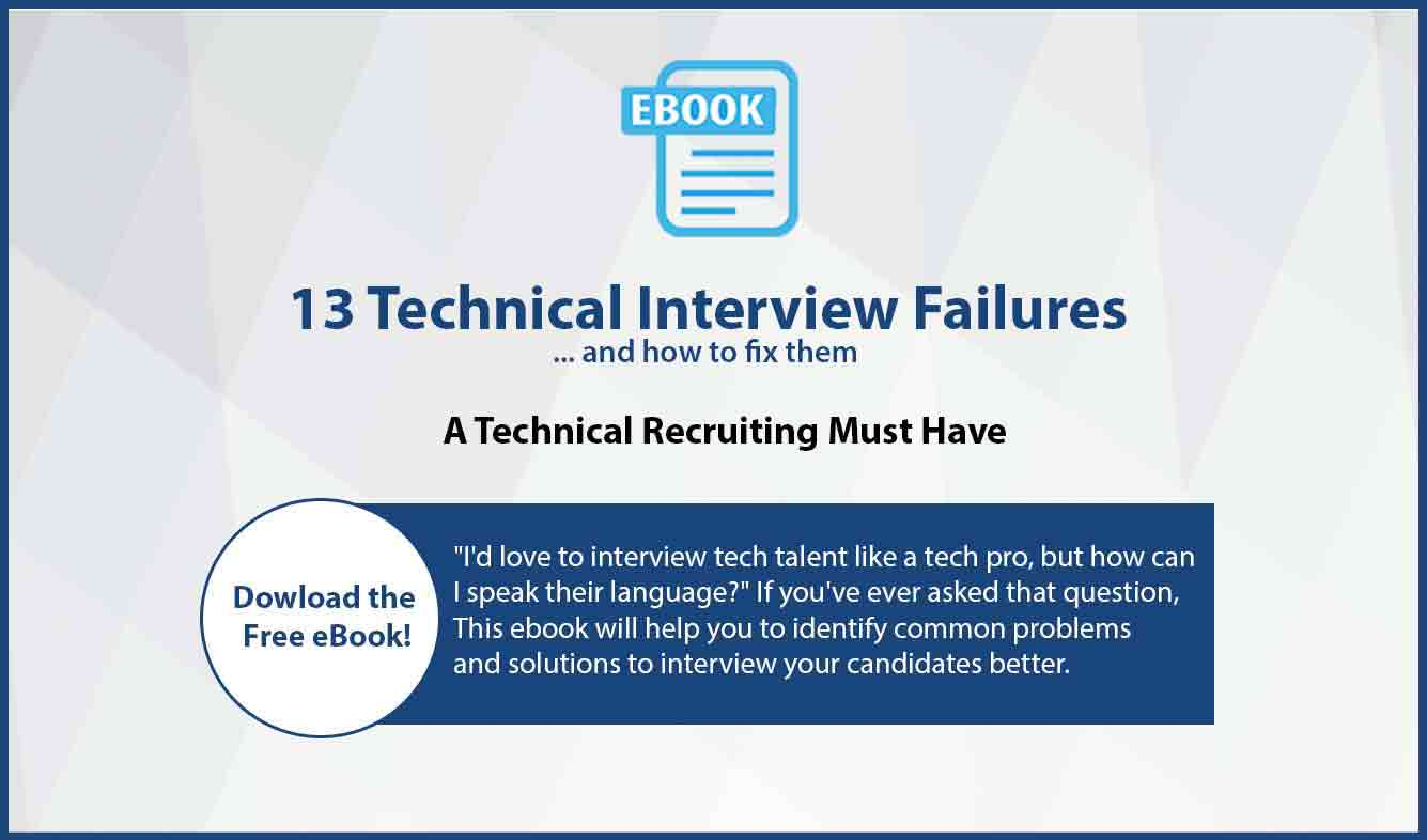 13 technical interview failures
