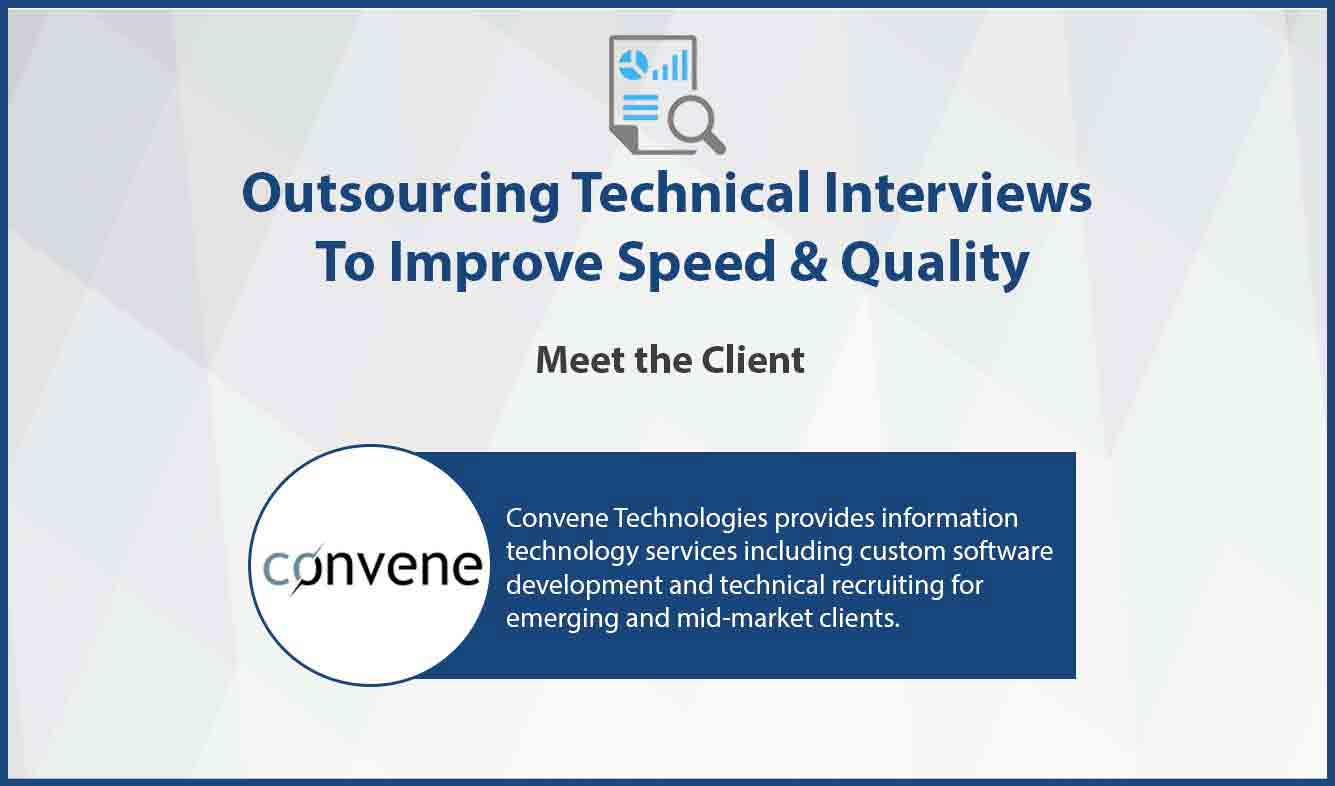 outsourcing technical interviews