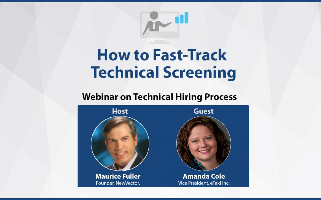 How to Fast-Track Technical Screening